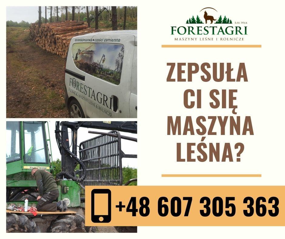 Serwis maszyn leśnych